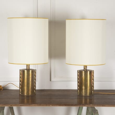 Pair of Brass Lamps LT3013518