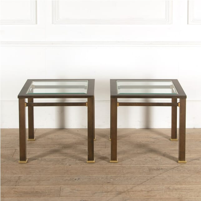 Pair of Bronze Side Tables CT3010906