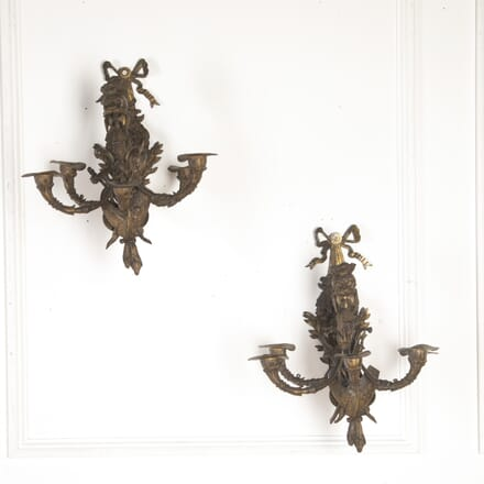 Pair of Candle Wall Sconces LW7260192