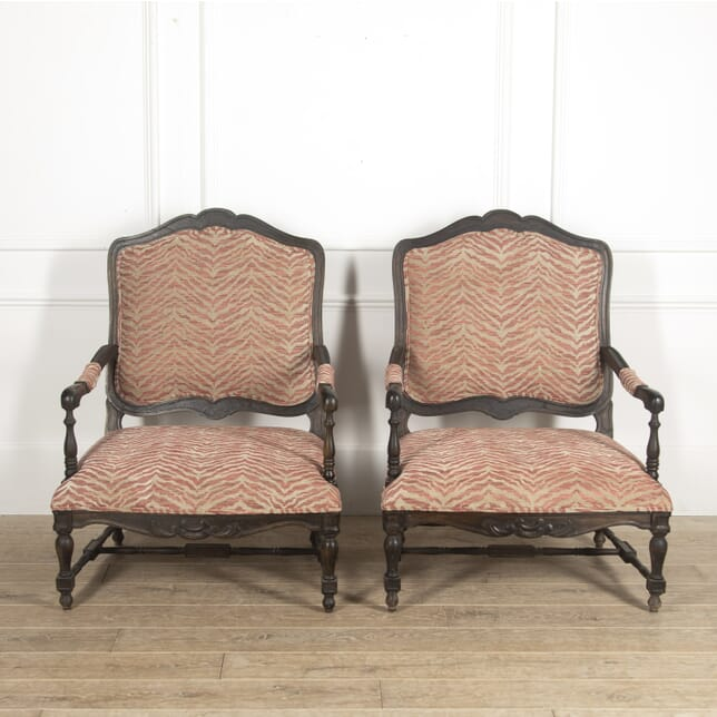 Pair of French Oak Armchairs CH5114881