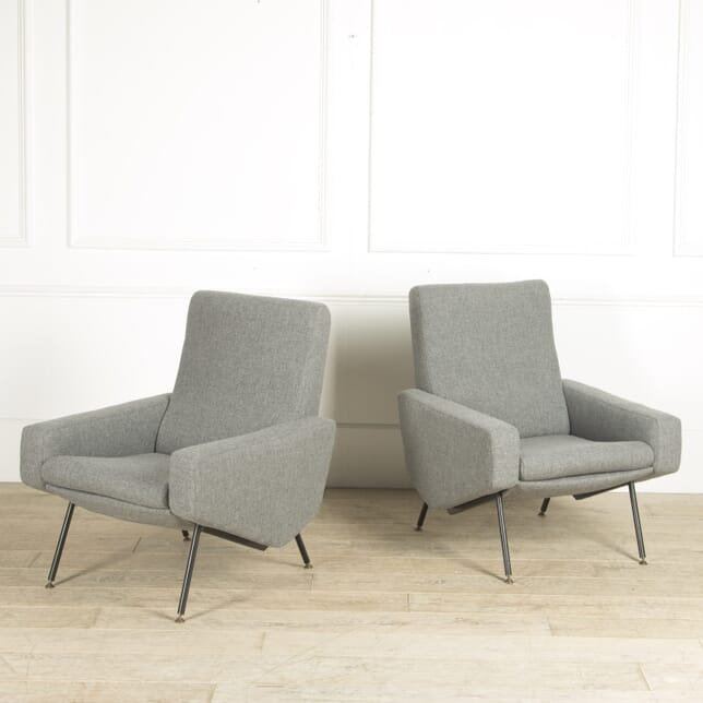 Pair of Chairs by Paul Geoffroy and Pierre Guariche CH3010217