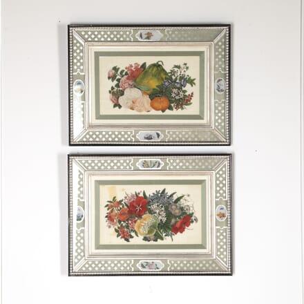 Pair of Chinese Ricepaper Paintings WD7613714