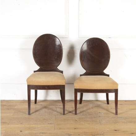 Pair of Russian Mahogany Side Chairs CH8916020