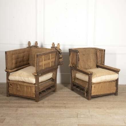 Pair of Classic Knole Armchairs CH0516060