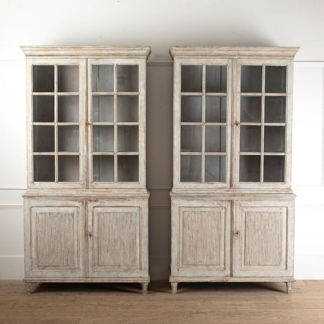Pair of Continental Bookcases BK6011499