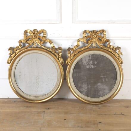 Pair of Italian 19th Century Gilt Mirrors MI4714894