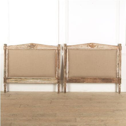 Pair of Distressed Bedheads BD1311427