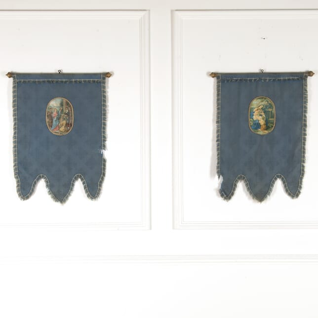 Pair of Early 20th Century French Church Banners WD7714261
