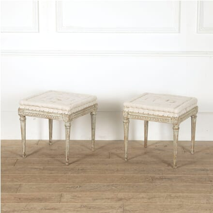 Pair of Early 19th Century Swedish Footstools BD6011501