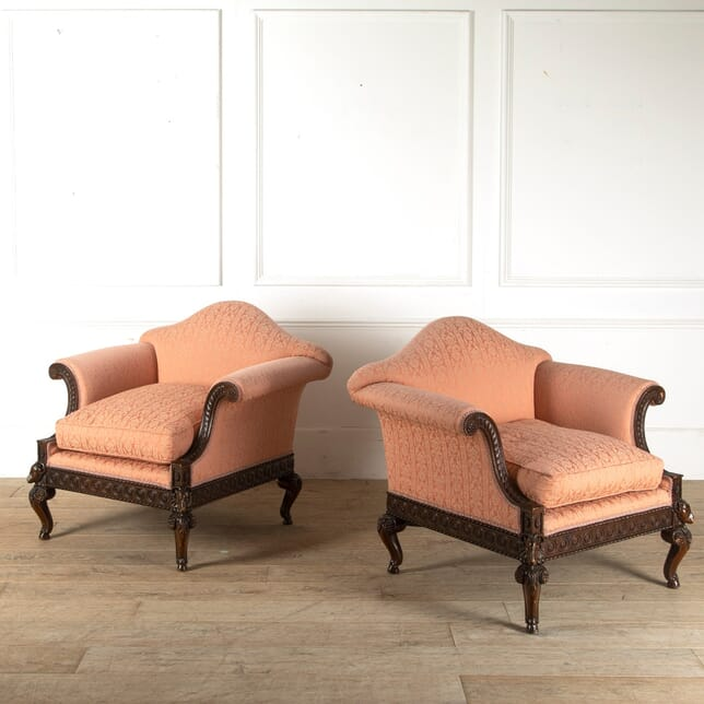 Pair of Edwardian Occasional Chairs OF8811099