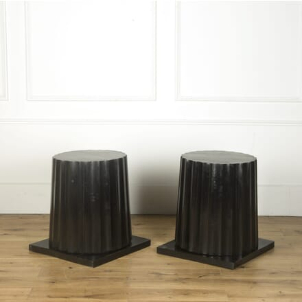 Pair of Edwardian Pedestals GA439804
