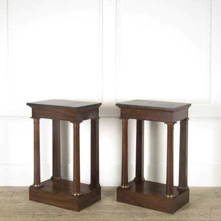 Pair of Empire Console Tables CO529259