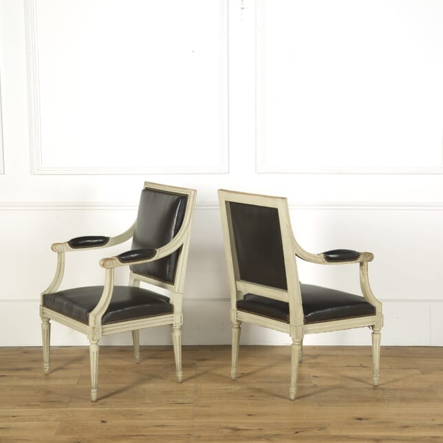 Pair of Empire Style Fauteuils CH759310