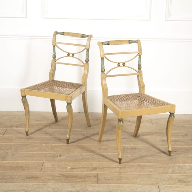 Pair of English Regency Side Chairs CH4117012