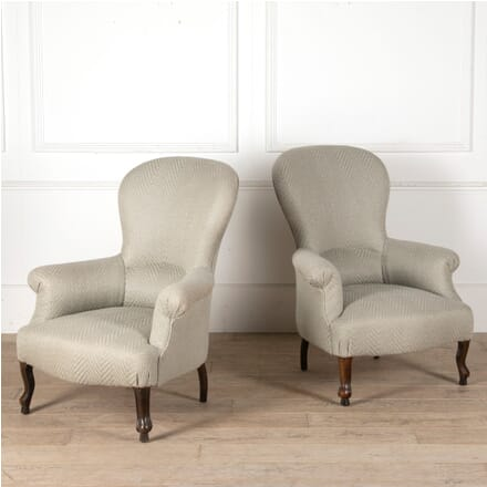 Pair of English Victorian Armchairs CH9911357