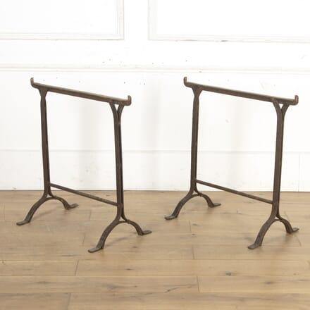 Pair of Wrought-Iron Blacksmith's Trestles CO8016047