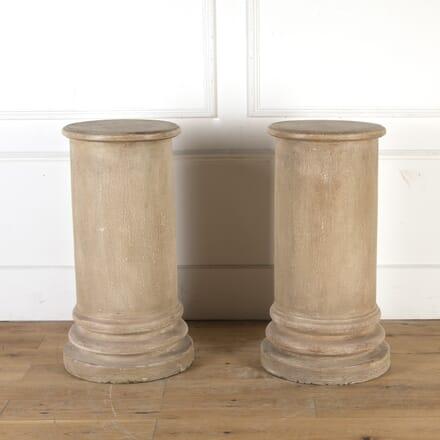 Pair of Faux Stone Columns GA8413909