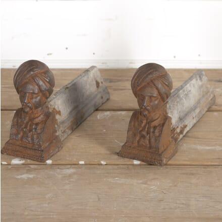Pair of Maharaja Firedogs DA5515254