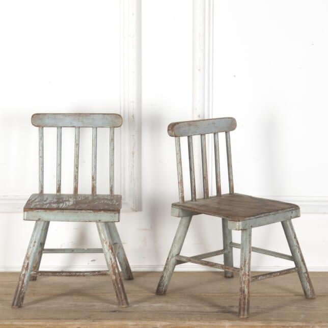 Pair of Folk Art Chairs CH2812873