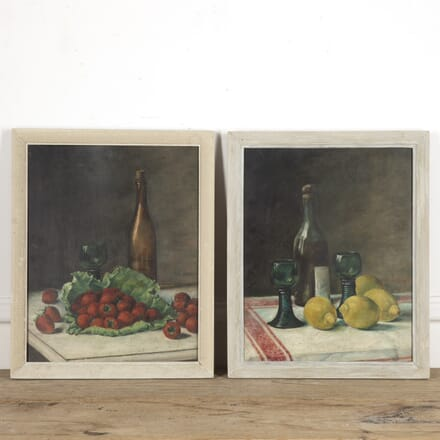 Pair of French Framed Still Life Paintings WD1515323