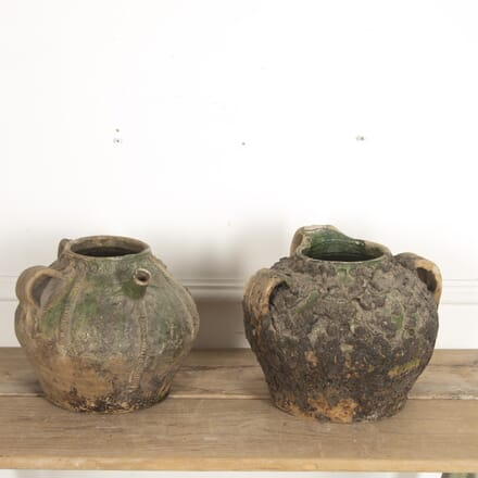 Pair of French 18th Century Oil Jars DA2815570