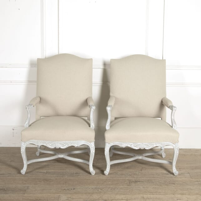 Pair of 20th Century French Armchairs CH5210451