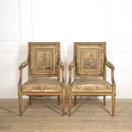 Pair of French Armchairs CH3516013