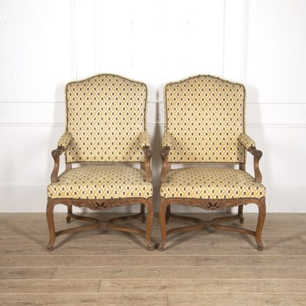 Pair of French 19th Century Armchairs CH5215802