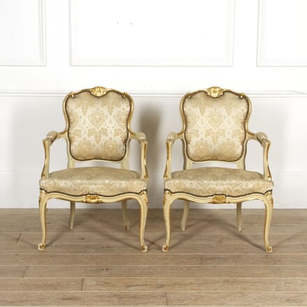 Pair of French Armchairs CH5217324