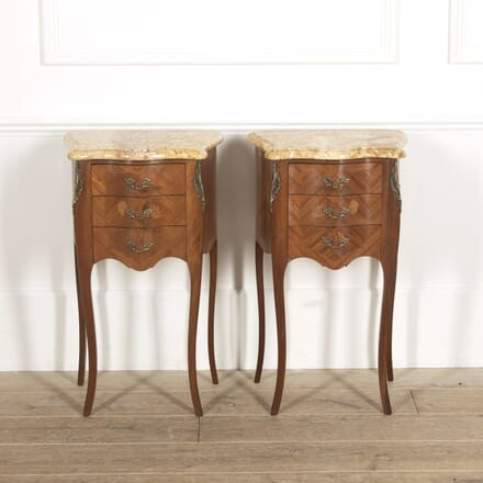Pair of French Bedside Tables BD3515021