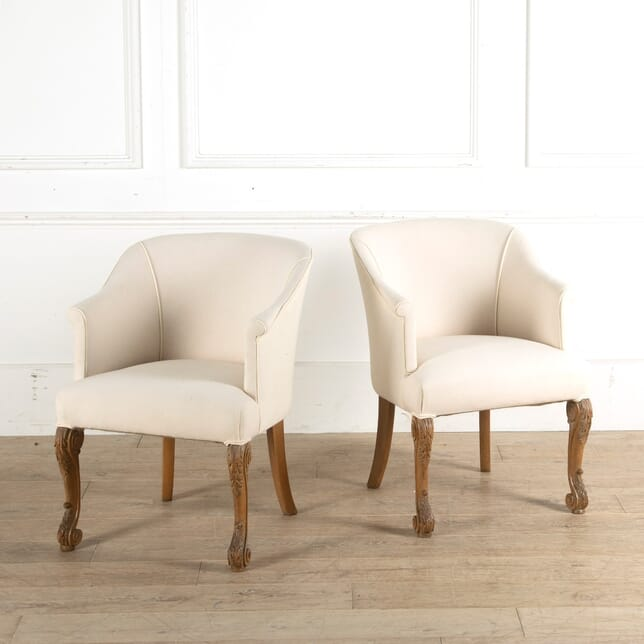Pair of French Club Chairs CH2010770