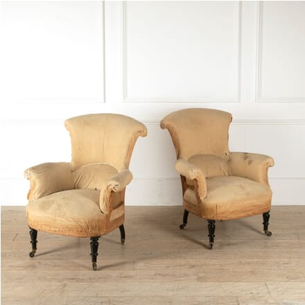 Pair of French Country House Chairs CH4510904