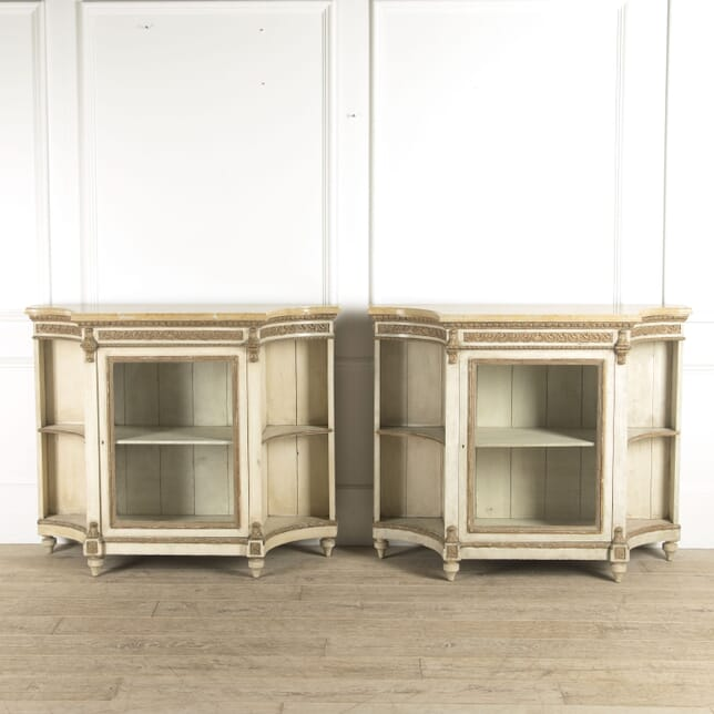 Pair of French Display Buffets BU0110301