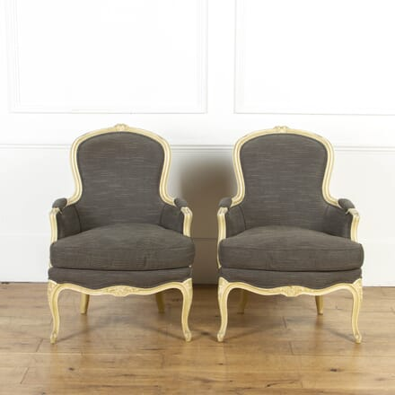 Pair of French Fauteuil Armchairs CH8017261