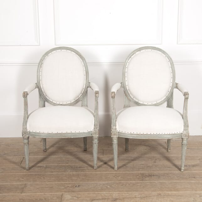 Pair of French Fauteuils by Louis Charles Carpentier CH6014844