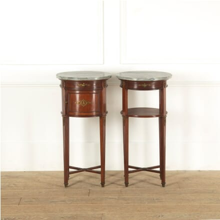 Pair of French Late 19th Century Empire Style Night Stands BD8811379
