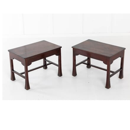 Pair Of French Mahogany Side Tables CO0611272