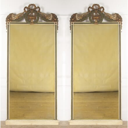 Pair of Decorative French Mirrors MI3513661