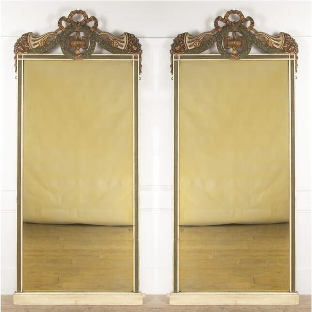 Pair of Decorative French Mirrors MI3513661