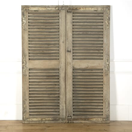 Pair of French Oak Shutters GA759473