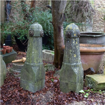 Pair of French Stone Bollards GA0110363