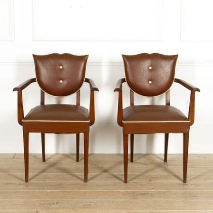 Pair Of French Vintage Bridge Chairs CH1517583