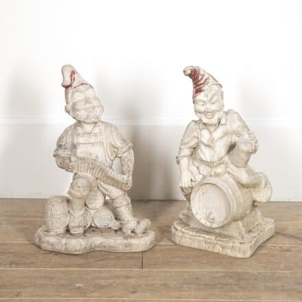 Pair of French Garden Gnomes GA1516495