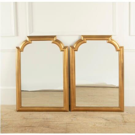 Pair of Gilded Mirrors MI3010908