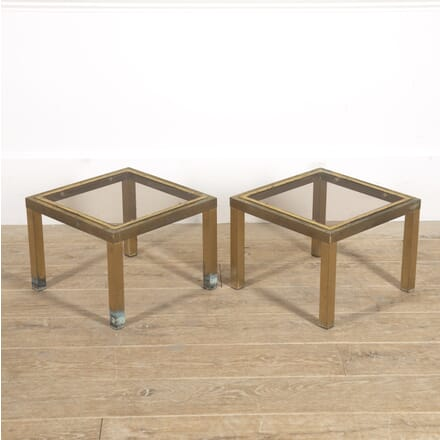 Pair of Gilt Brass End Tables CT4515716