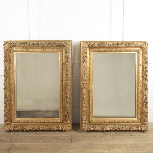 Pair of French Gilt Mirrors MI4815654