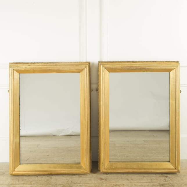 Pair of Giltwood Mirrors MI059422