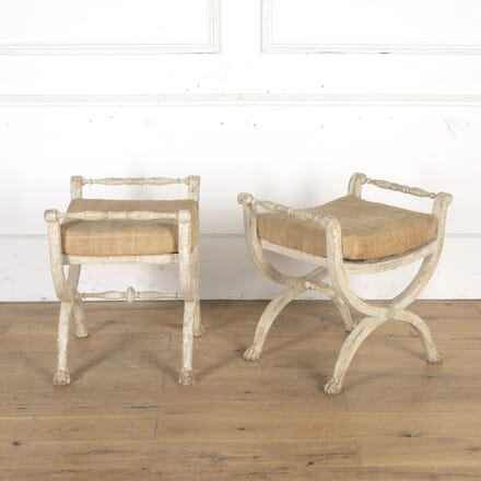 Pair of Gustavian Stools ST9014926