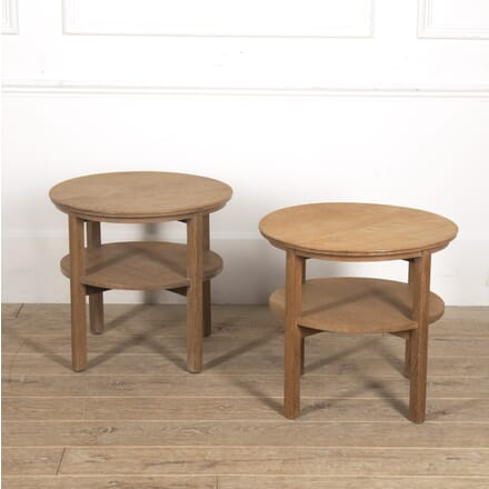 Pair of Heal's End Tables TC0515875