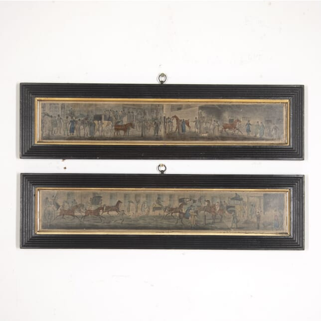 Pair of Horse and Carriage Prints WD2515937